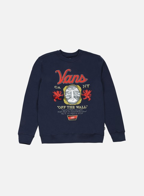 felpe vans cold one crewneck dress blues