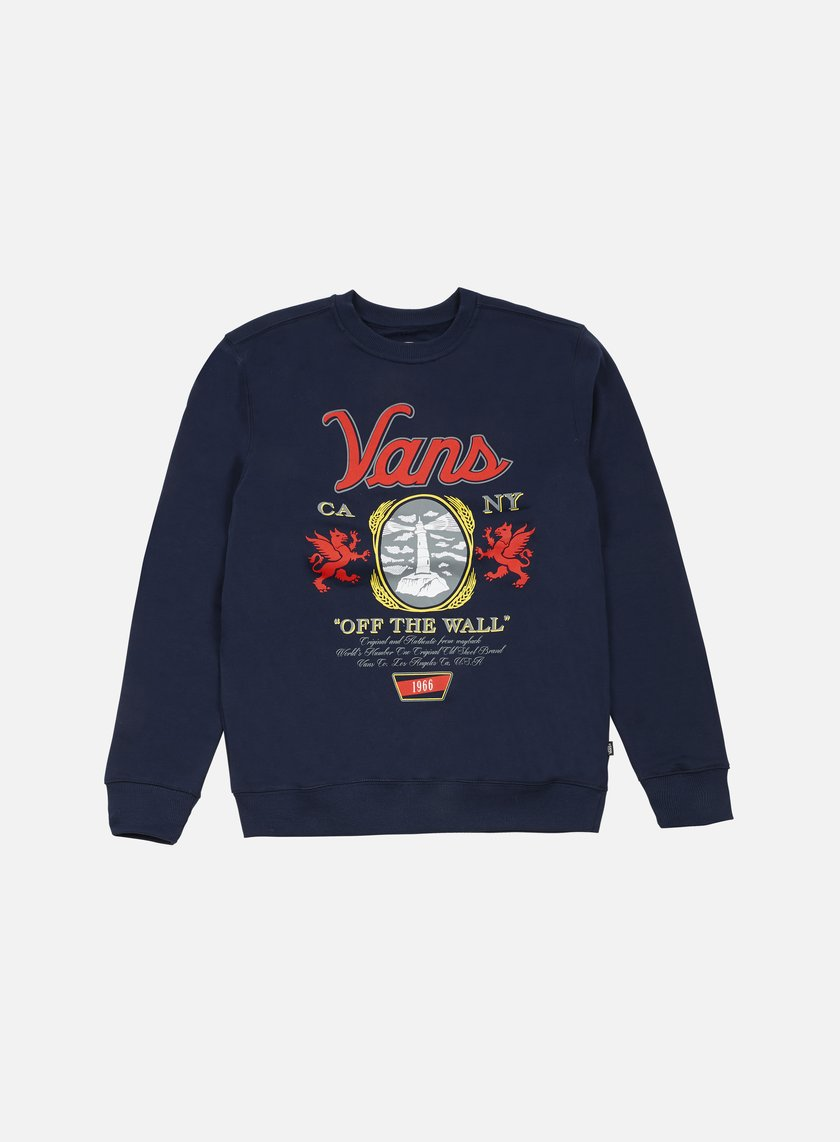 Vans - Cold One Crewneck, Dress Blues