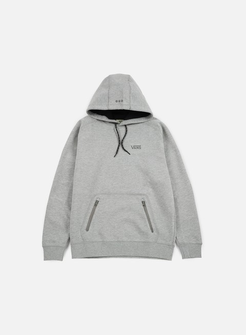 felpe vans concord hoodie cement heather