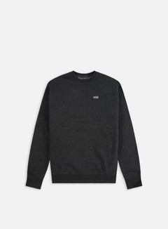 Vans - Core Basic Crewneck, Black Heather 1
