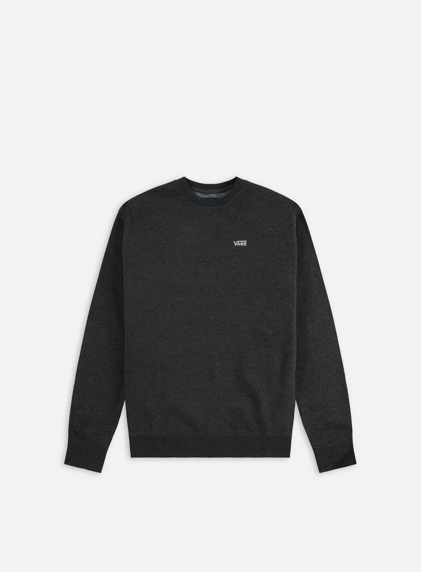 Vans - Core Basic Crewneck, Black Heather
