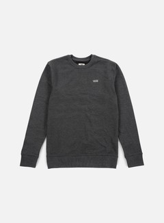 Vans - Core Basic IV Crewneck, New Charcoal Heather 1
