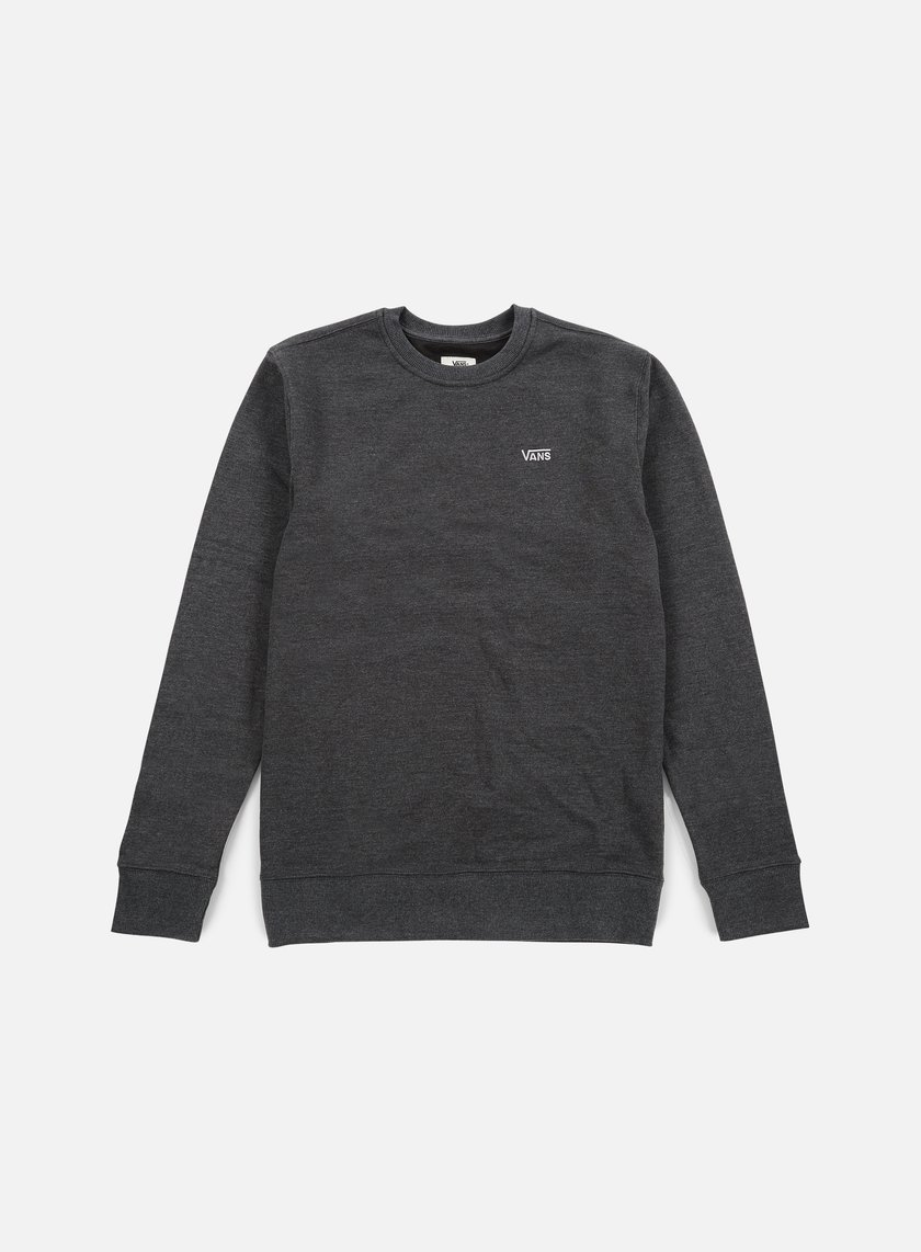 Vans - Core Basic IV Crewneck, New Charcoal Heather