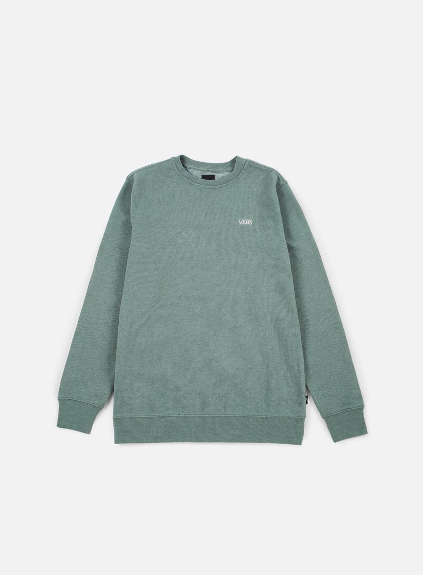 Vans - Core Basics Crewneck, Dark Forest
