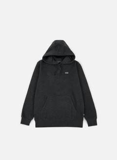 Vans - Core Basics Hoodie, Black Heather 1