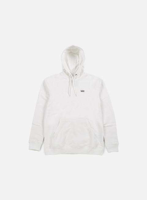 felpe vans core basics hoodie bright white