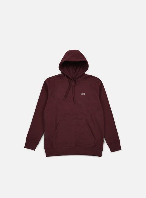 felpe vans core basics hoodie port royale