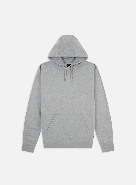 felpe vans core basics pullover hoodie cement heather