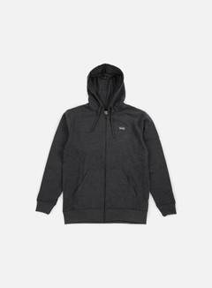 Vans - Core Basics Zip Hoodie, Black/Heather 1