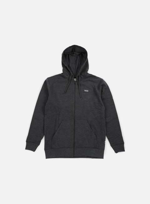 Hooded Sweatshirts Vans Core Basics Zip Hoodie