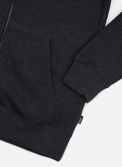 Vans - Core Basics Zip Hoodie, Black Heather 3