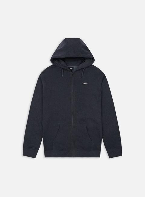 Hooded Sweatshirts Vans Core Basics Zip Hoodie