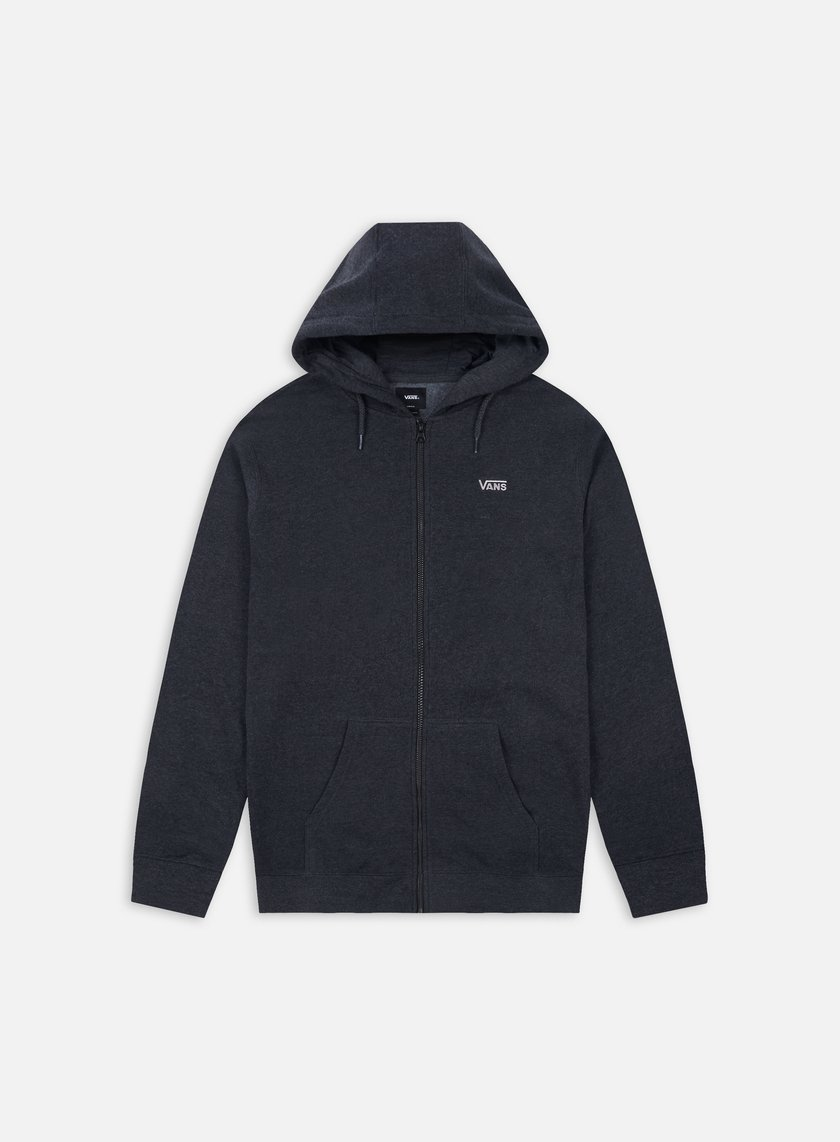 Vans - Core Basics Zip Hoodie, Black Heather