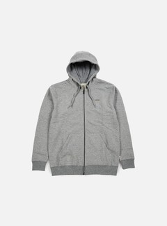 Vans - Core Basics Zip Hoodie, Concrete Heather 1