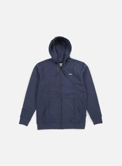 Vans - Core Basics Zip Hoodie, Dress Blues Heather 1