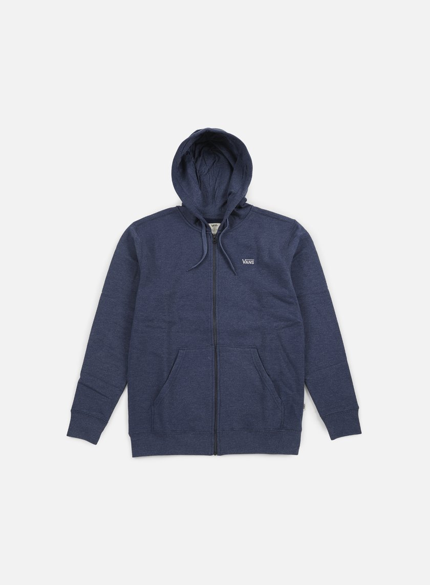 Vans - Core Basics Zip Hoodie, Dress Blues Heather