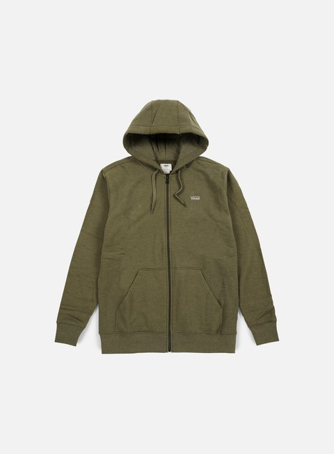 Sale Outlet Hooded Sweatshirts Vans Core Basics Zip Hoodie