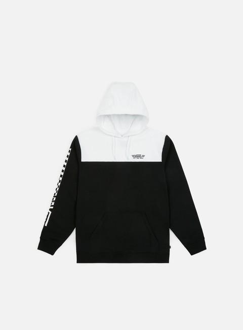 felpe vans crossed sticks hoodie black white