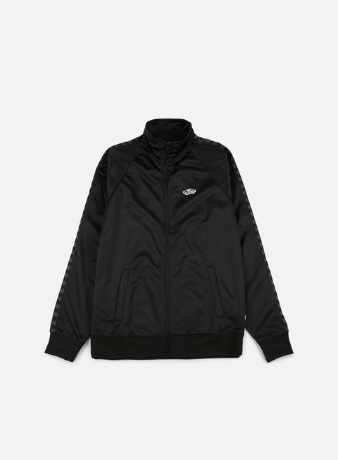 felpe vans east end track jacket black