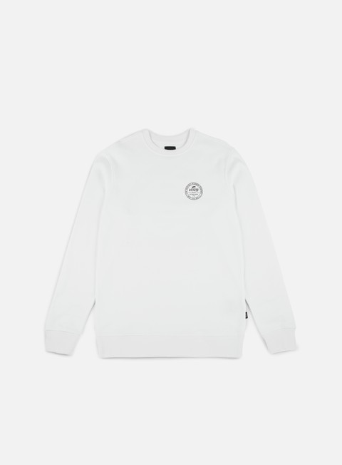 felpe vans established 66 crewneck white