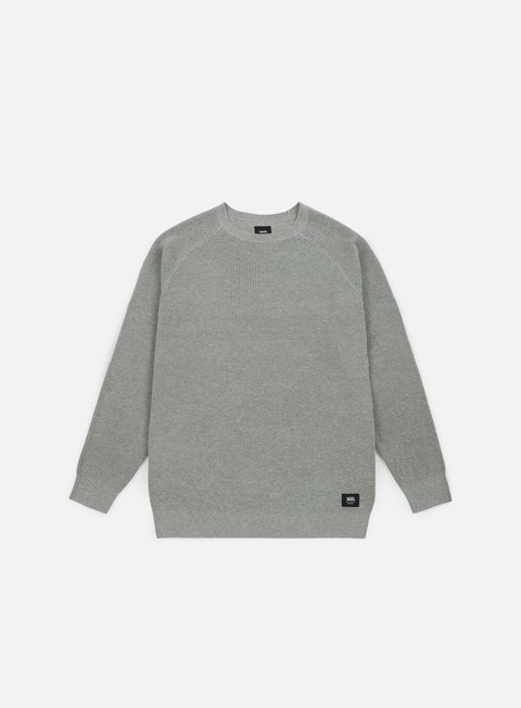 felpe vans fairhaven crewneck cement heather