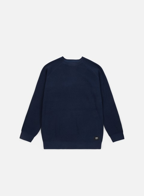 felpe vans fairhaven crewneck dress blues