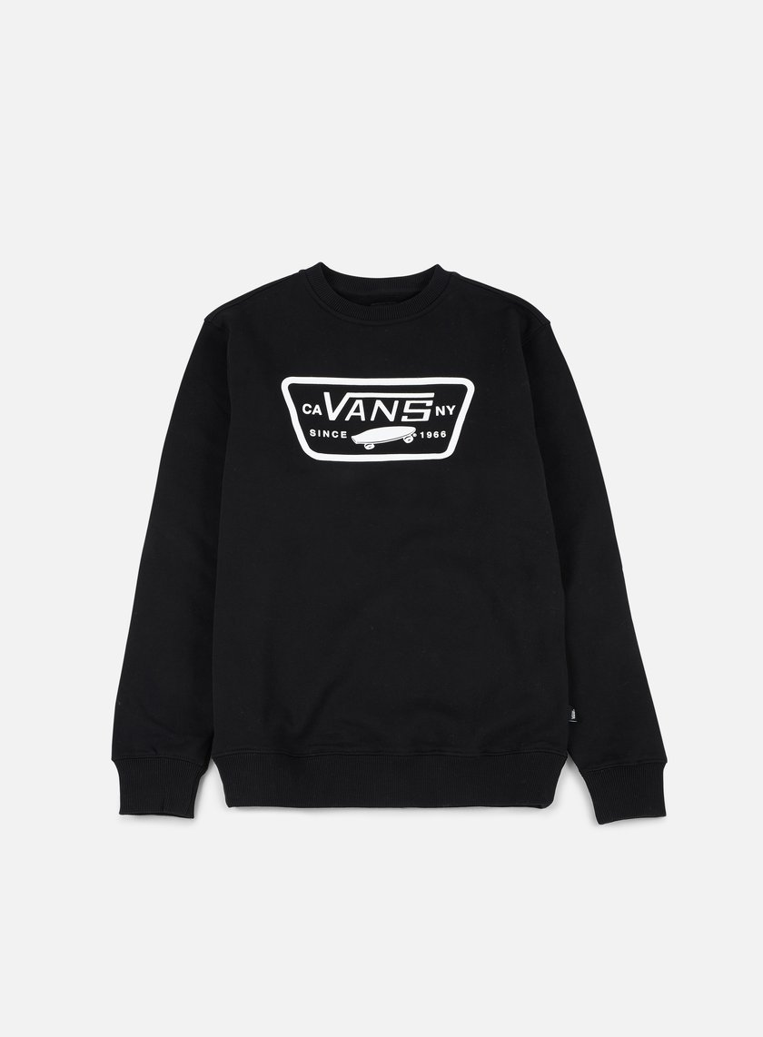 Vans - Full Patch Crewneck, Black