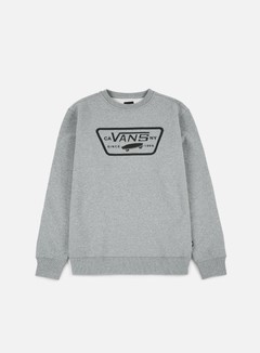 Vans - Full Patch Crewneck, Concrete Heather 1