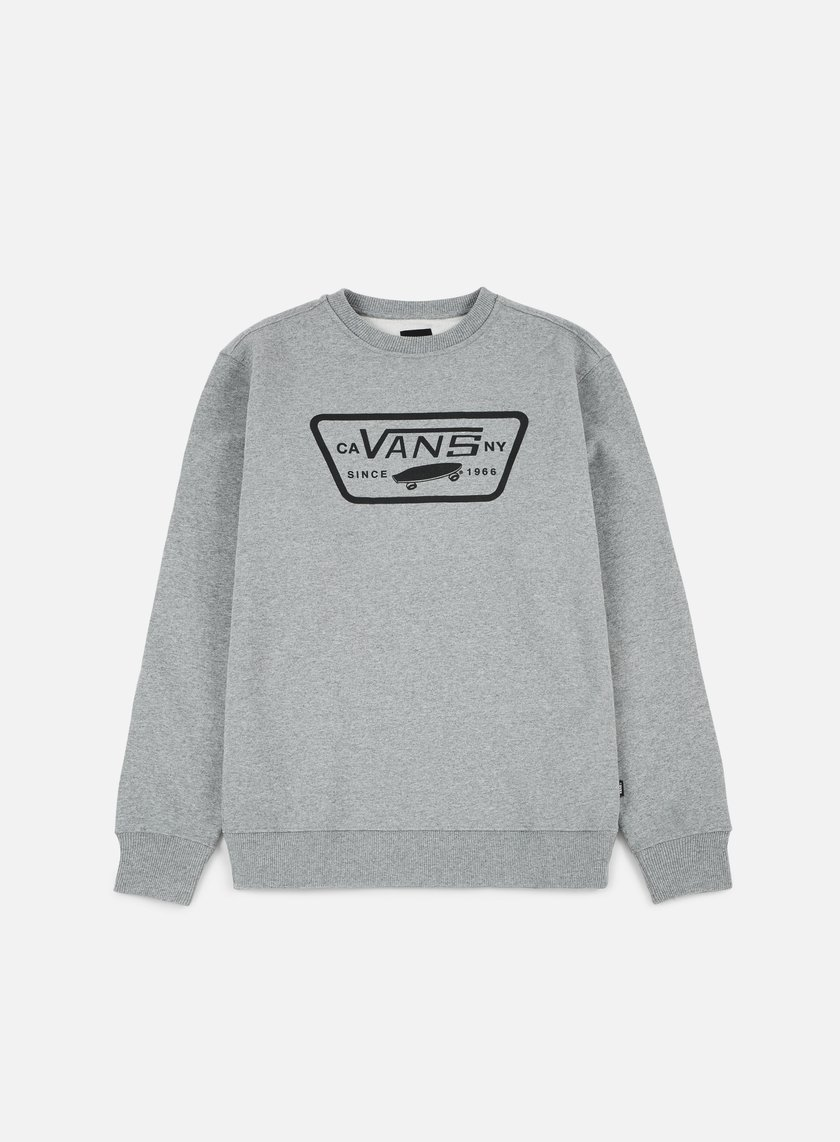 Vans - Full Patch Crewneck, Concrete Heather