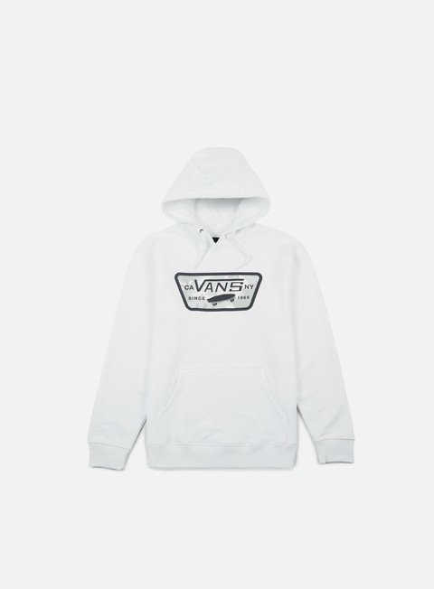 felpe vans full patch fill hoodie white snow camo