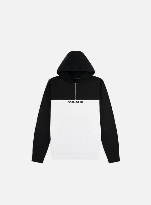 Hooded Sweatshirts Vans Hi-Point Qzip Hoodie