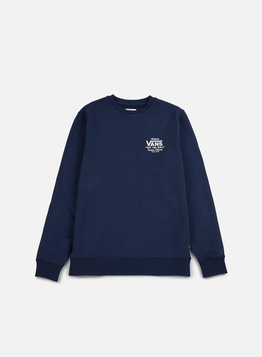 Vans - Holder Street Crewneck, Dress Blue
