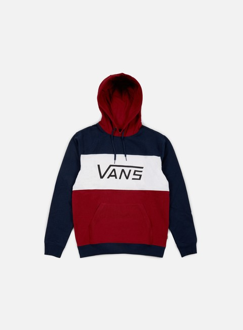 felpe vans mannix hoodie dress blues