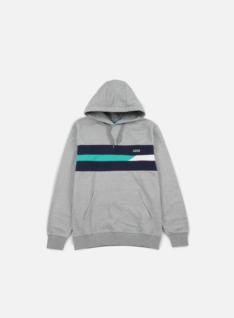 felpe vans ninety three hoodie concrete heather
