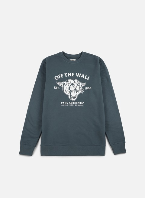 Outlet e Saldi Felpe Girocollo Vans Old Skool Cougar Crewneck