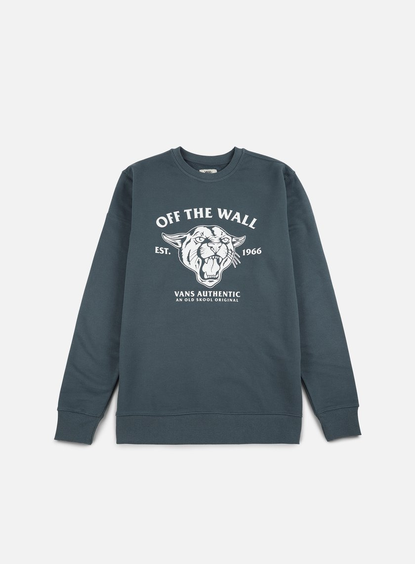Vans - Old Skool Cougar Crewneck, Dark Slate
