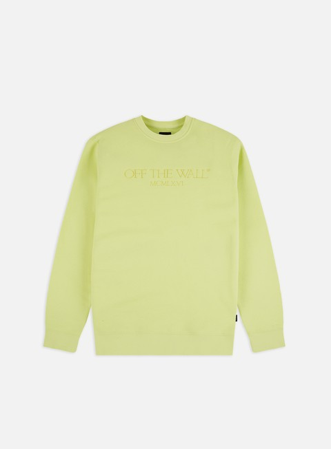 Felpe Girocollo Vans Old Skool Text Crewneck