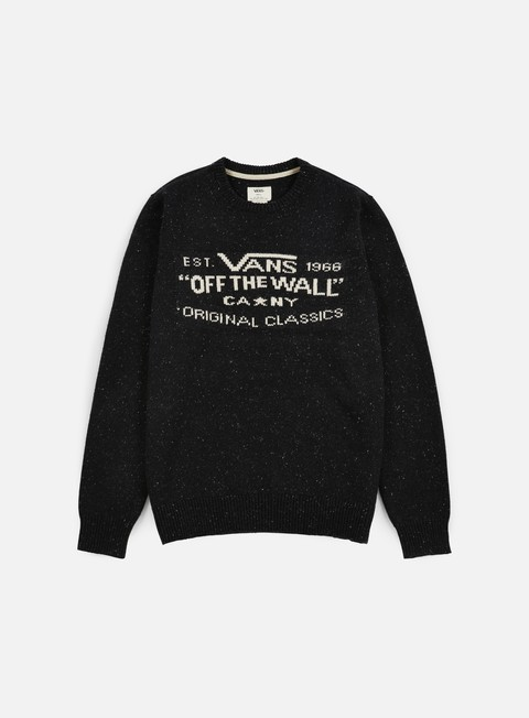 felpe vans original classic sweater black