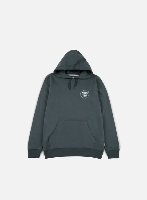 felpe vans original rubber pullover fleece dark slate