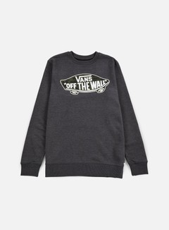 Vans - OTW Crewneck, Black Heather/Tahoe Floral