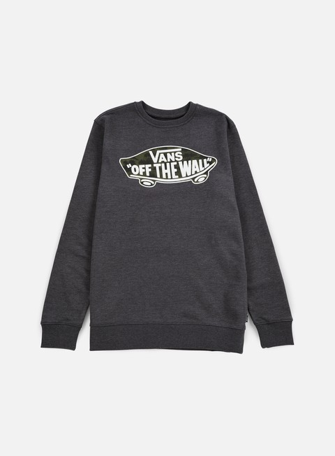 felpe vans otw crewneck black heather tahoe floral