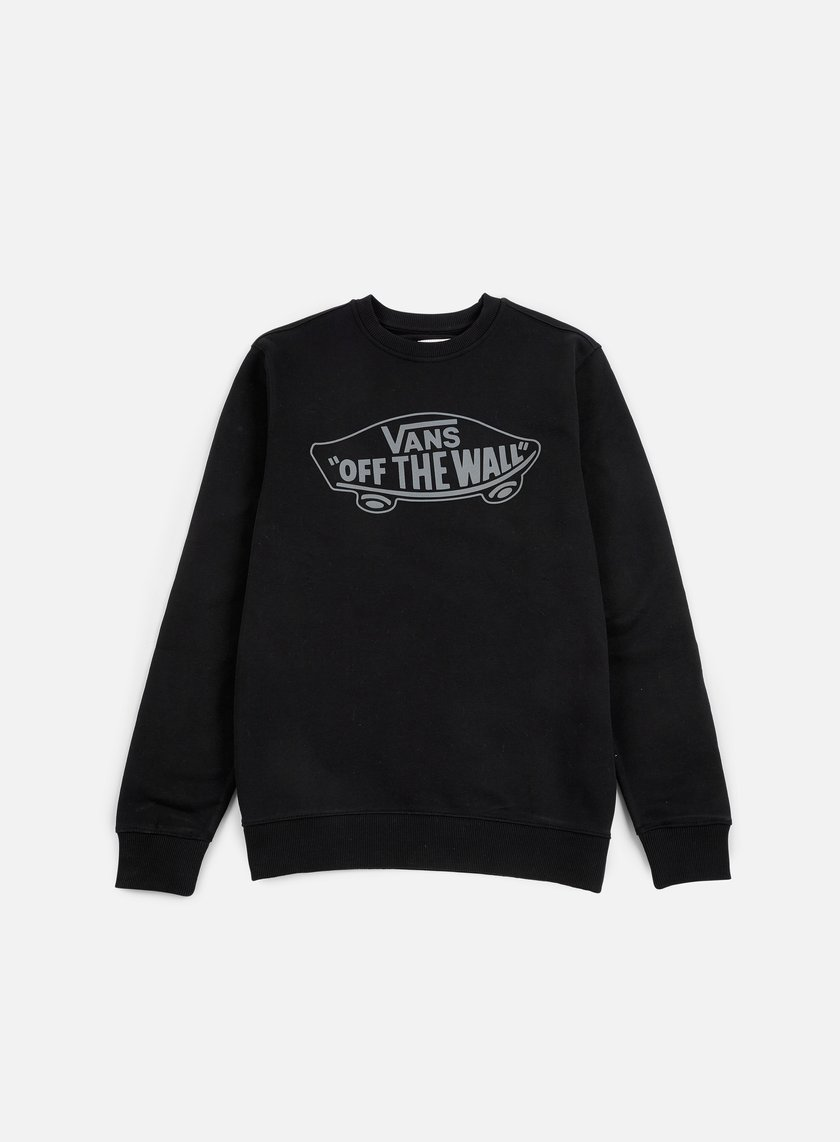 Vans - OTW Crewneck, Black/Pewter