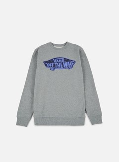 Vans - OTW Crewneck, Concrete Heather