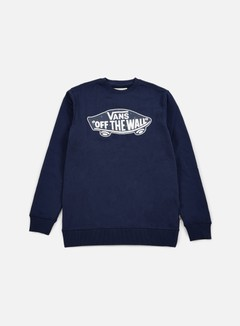 Vans - OTW Crewneck, Dress Blues/True Native Ditsy 1