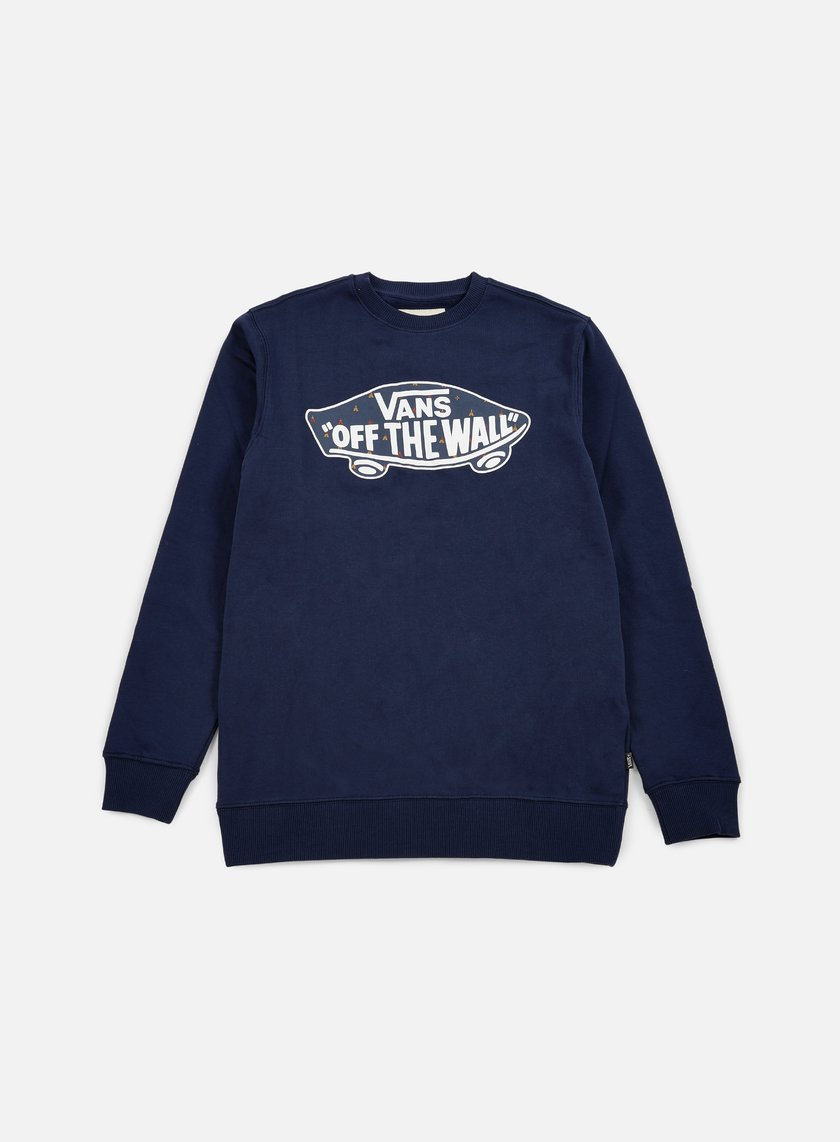 Vans - OTW Crewneck, Dress Blues/True Native Ditsy