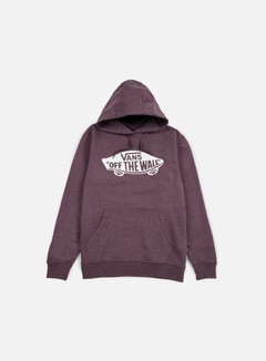 Vans - OTW Hoodie, Port Royale Heather/White