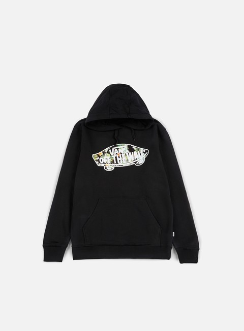 felpe vans otw pullover fleece black black decay palm