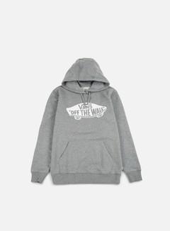 Vans - OTW Pullover Fleece, Concrete Heather/White