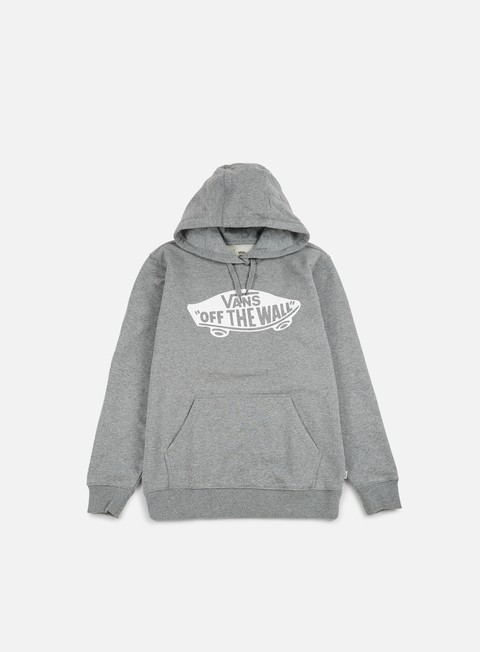 felpe vans otw pullover fleece concrete heather white