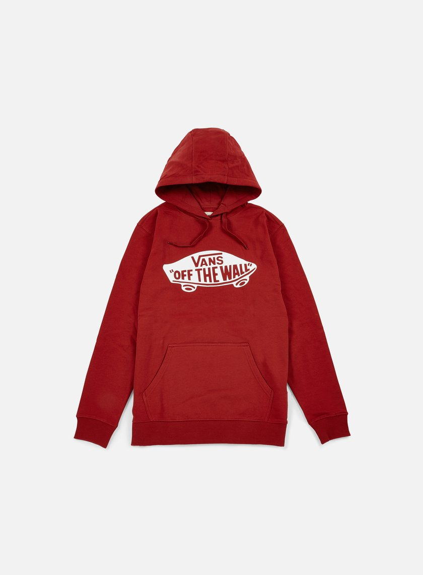 Vans - OTW Pullover Fleece, Red Dahlia/Bright White